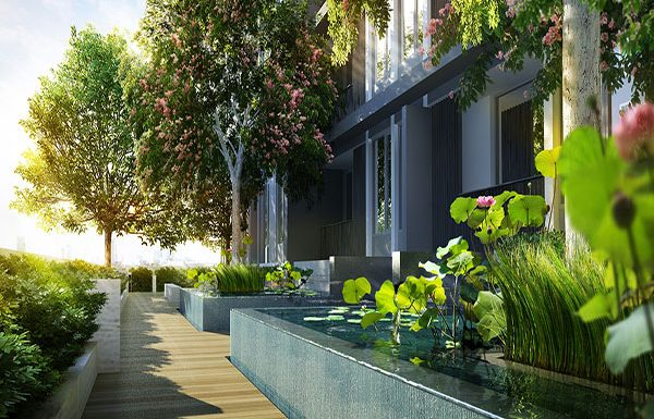 NARA-9-Bangkok-condo-for-sale-garden-4
